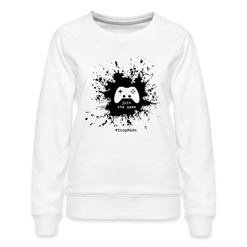 Join the game - Women's Premium Sweatshirt
