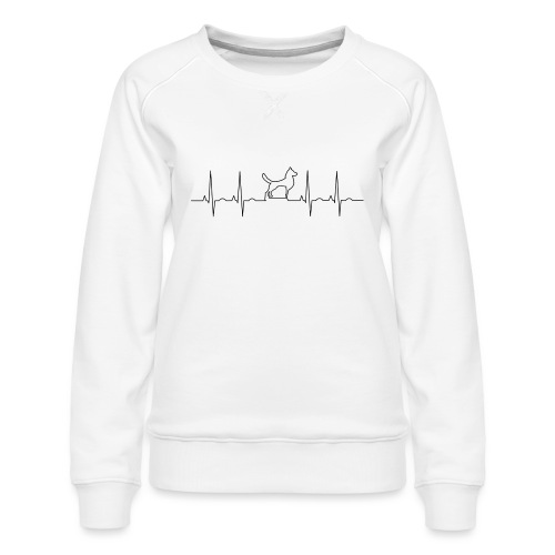 dog - Vrouwen premium sweater
