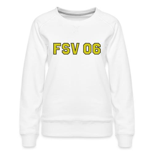 Hildburghausen - FSV 06 Stick-Optik - Frauen Premium Pullover