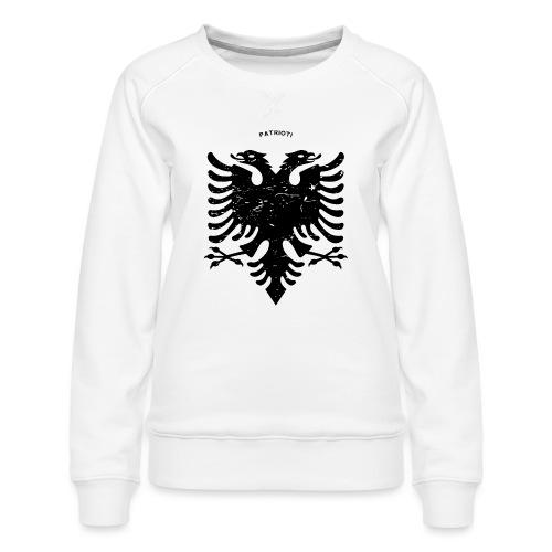 Albanischer Adler im Vintage Look - Patrioti - Frauen Premium Pullover
