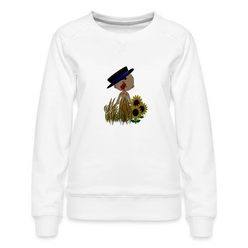 HERZELEID = HERZ_BLUTEN = HERZWEH - Frauen Premium Pullover