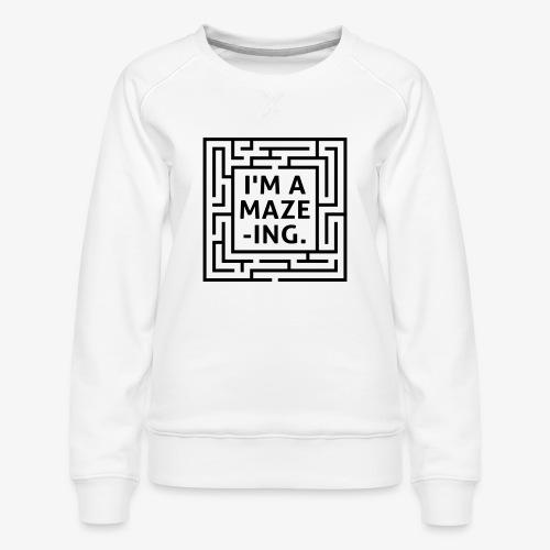A maze -ING. Die Ingenieurs-Persönlichkeit. - Frauen Premium Pullover