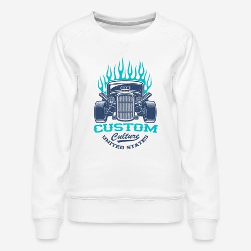 Custom Car USA - Frauen Premium Pullover