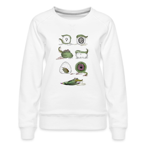 Il Sushi di Cthulhu! - Felpa premium da donna