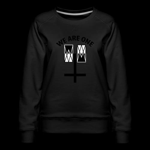 WE ARE ONE x CROSS - Vrouwen premium sweater