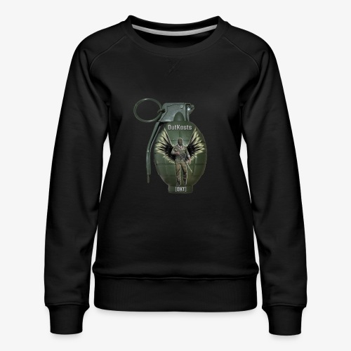 grenadearma3 png - Women's Premium Sweatshirt