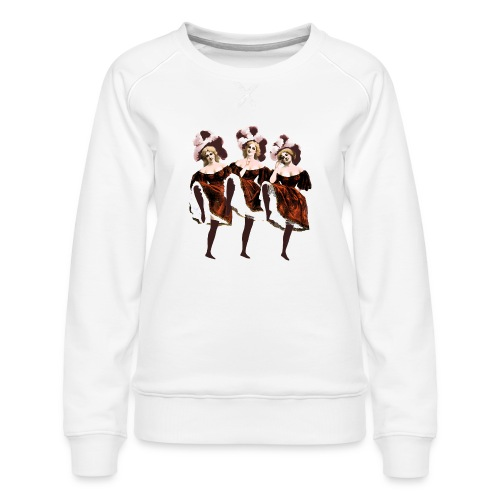 Vintage Dancers - Women's Premium Sweatshirt