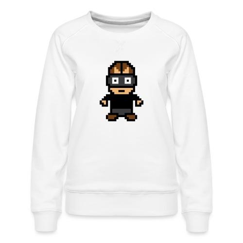 Die Zock Stube - Pixel Patrick - Frauen Premium Pullover