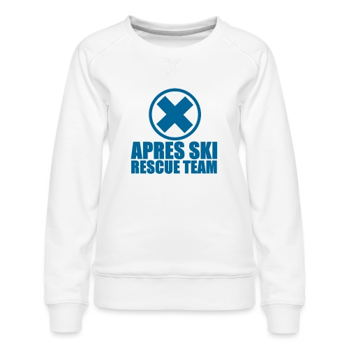 apres-ski rescue team - Vrouwen premium sweater
