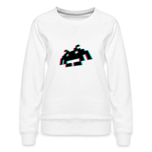 invader3dschwarz1 - Frauen Premium Pullover