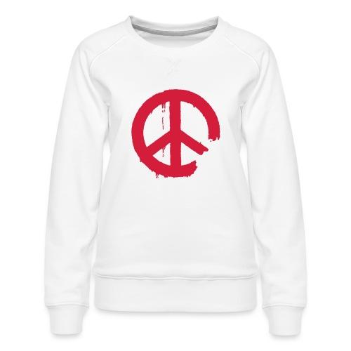PEACE - Frauen Premium Pullover