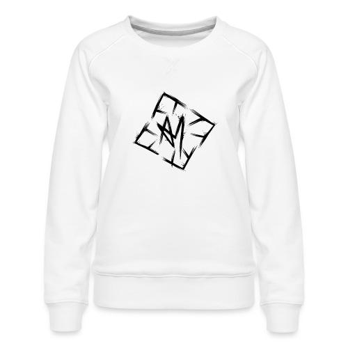 Across Yourself - Logo black transparent - Women's Premium Sweatshirt
