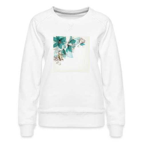 Tropical Flora - Women's Premium Sweatshirt
