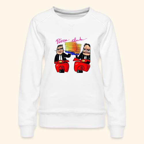 Pizza Club - Vrouwen premium sweater