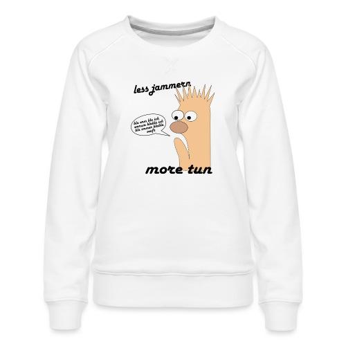 more tun - Frauen Premium Pullover