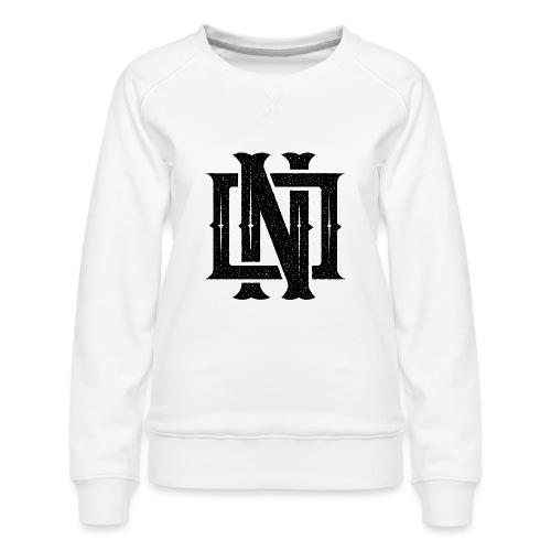Nineone Monogram NO 01 black - Frauen Premium Pullover