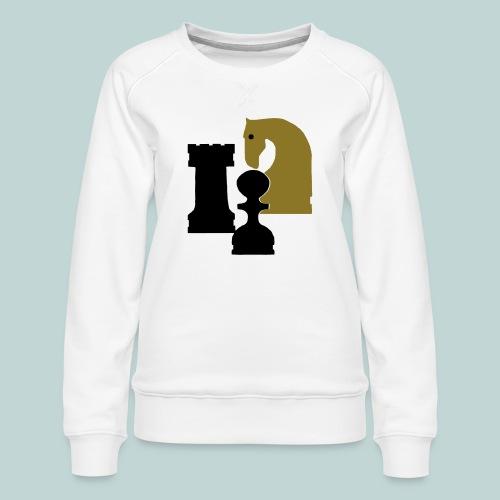 Figurenguppe1 - Frauen Premium Pullover
