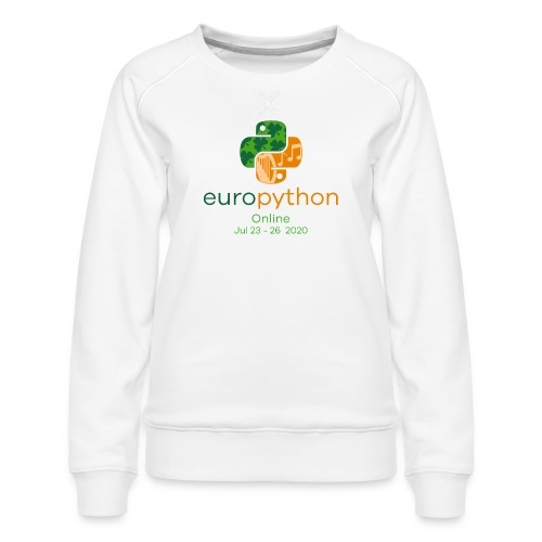 EuroPython 2020 - Vertical Color Logo - Women's Premium Sweatshirt
