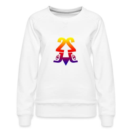 2J_LOGO_Beach - Dame premium sweatshirt