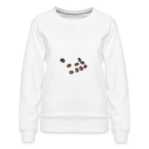 Miłośnik kawy - Ziarna kawy - Bluza damska Premium