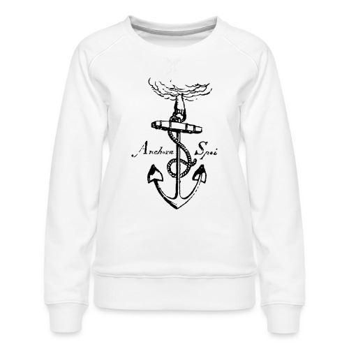 Vintage anchor - Women's Premium Sweatshirt