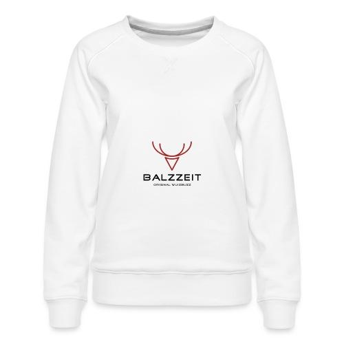 WUIDBUZZ   Balzzeit   Männersache - Frauen Premium Pullover