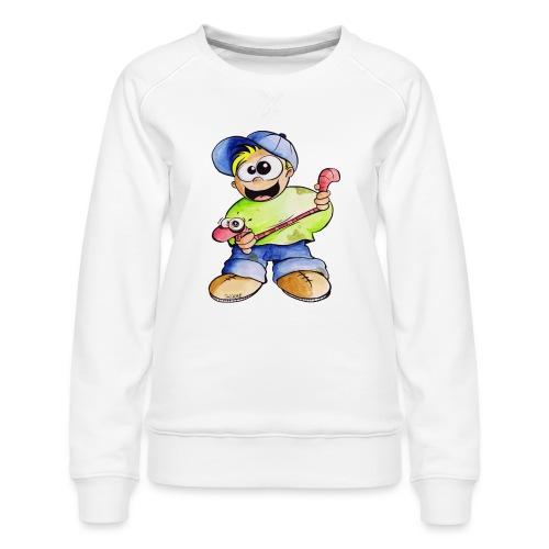 Elastizitätstest - Frauen Premium Pullover