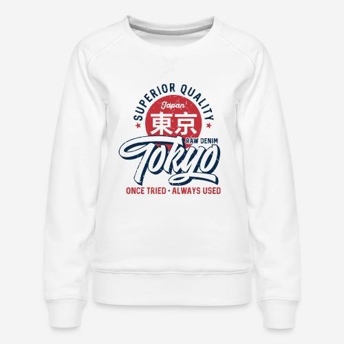 tokyo superior quality japan - Frauen Premium Pullover