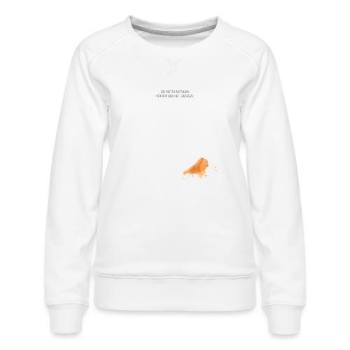 Ketchupvlek - Vrouwen premium sweater