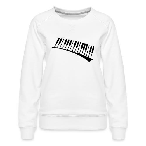 Piano - Sudadera premium para mujer