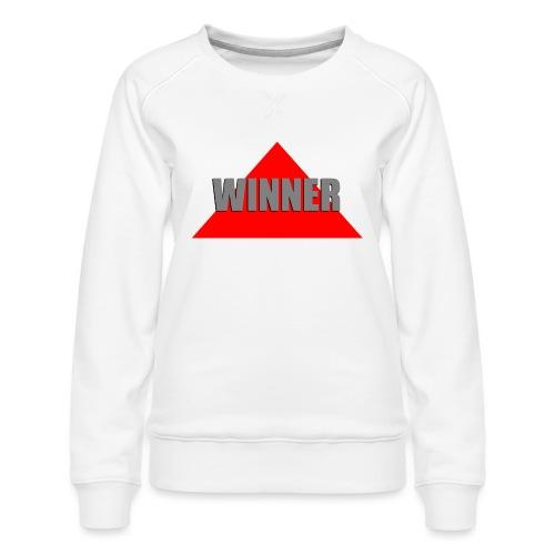 Winner, by SBDesigns - Sweat ras-du-cou Premium Femme