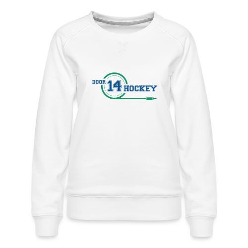D14 HOCKEY LOGO - Women's Premium Sweatshirt