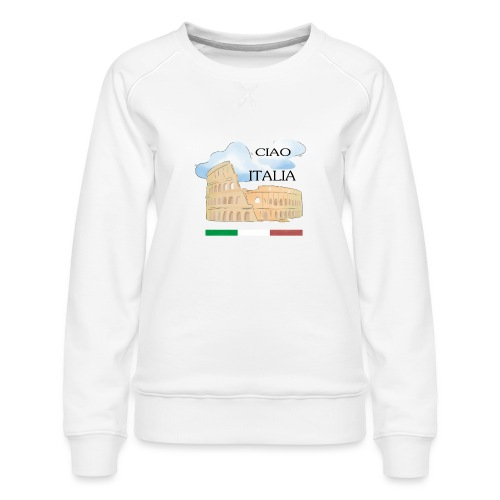 hello italy T-Shirts - Women's Premium Sweatshirt