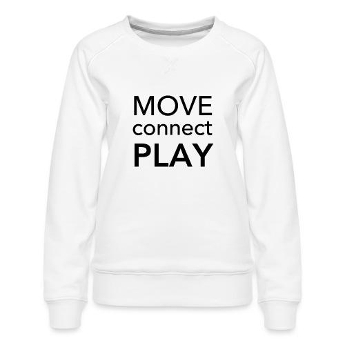 Move Connect Play - AcroYoga International - Women's Premium Sweatshirt