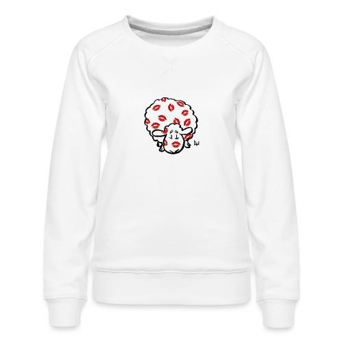 Kiss Ewe - Dame premium sweatshirt