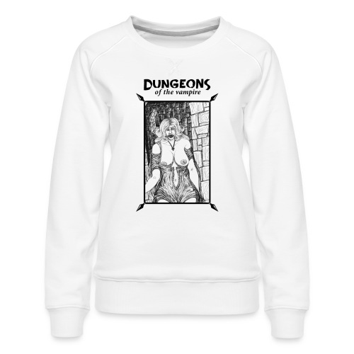 catacombs vampire black version - Women's Premium Sweatshirt