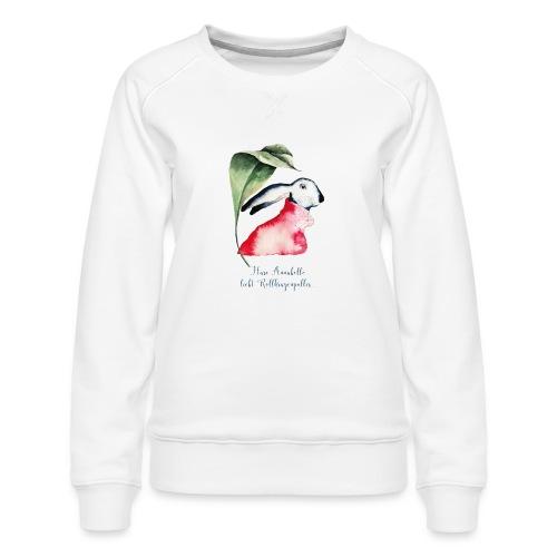 Annabel Osterhäsin - Frauen Premium Pullover