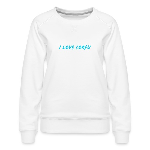 I Love Corfu Griechenland - Frauen Premium Pullover