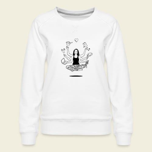 All in one - MUM - Frauen Premium Pullover