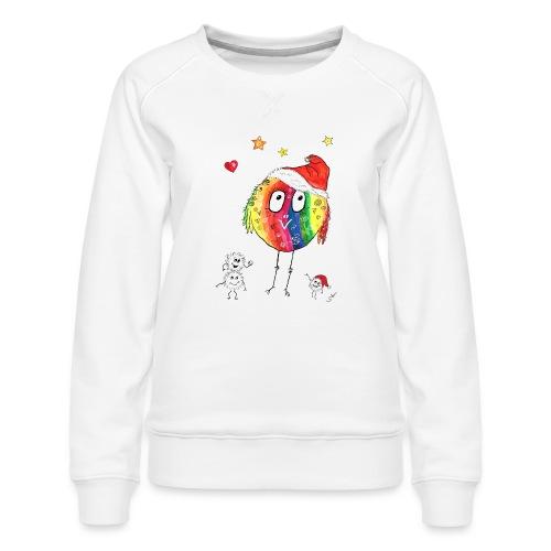 Happy Weihnachtskugelbird - Frauen Premium Pullover