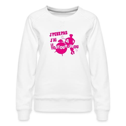 JPEUXPAS ROSE - Sweat ras-du-cou Premium Femme