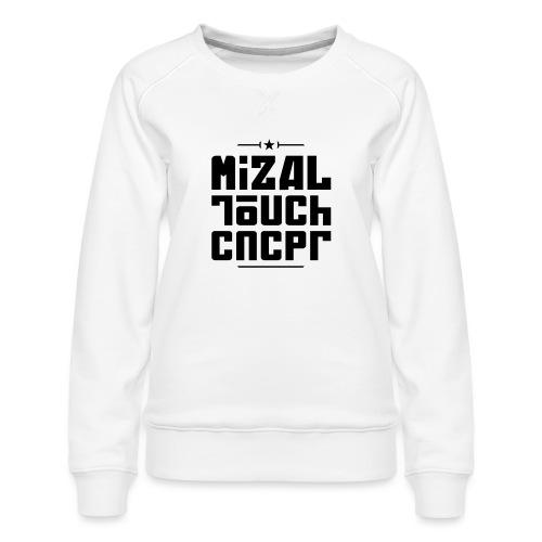 Logo MiZAL Touch Concept - Sweat ras-du-cou Premium Femme