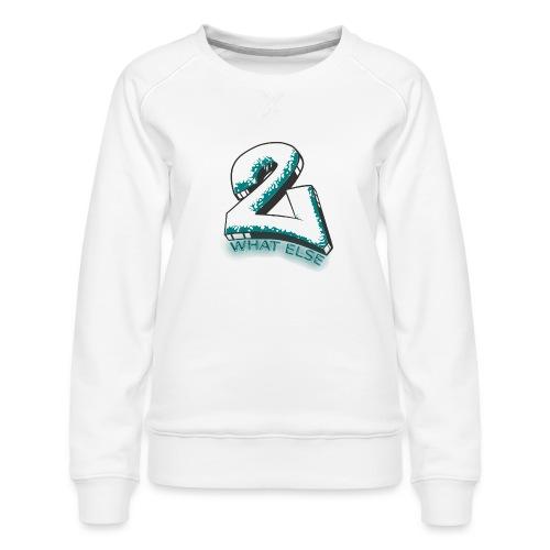 77 what else - Frauen Premium Pullover