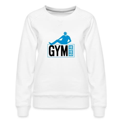 Gym baba 2 2c - Sweat ras-du-cou Premium Femme