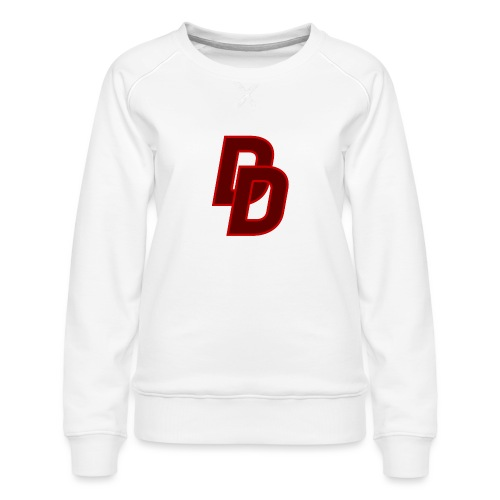 Daredevil Logo - Women's Premium Sweatshirt