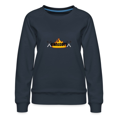 Grillgott Meister des Grillens - Frauen Premium Pullover