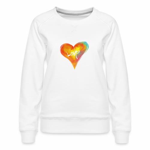 Hart Love - Vrouwen premium sweater