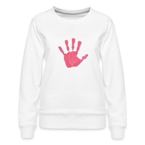 Hand - Premiumtröja dam