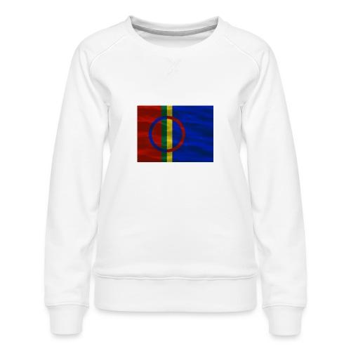 Sapmi flag - Premium-genser for kvinner