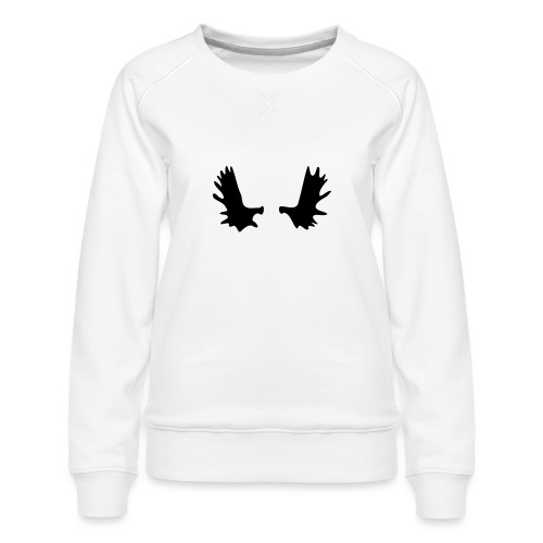 Elchgeweih - Frauen Premium Pullover